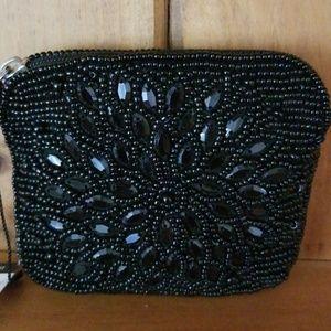 Sweet beaded  Victorian-esque coin purse